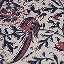 インド更紗の名古屋帯 質感・風合