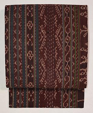 インドネシアの織名古屋帯