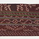 インドネシアの織名古屋帯 前柄