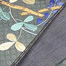 疋田に蝶の半巾帯 質感・風合