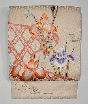 蛇籠に菖蒲の刺繍名古屋