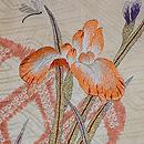 蛇籠に菖蒲の刺繍名古屋 質感・風合