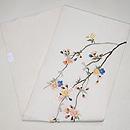 枝垂れ桜の刺繍名古屋帯 帯裏