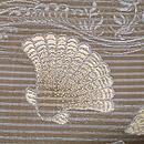 貝尽くし織り絽の名古屋帯 質感・風合