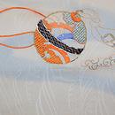 鈴文様刺繍紋織袋帯 前柄