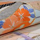 鈴文様刺繍紋織袋帯 質感・風合
