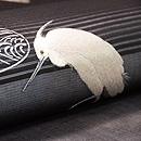 柳に白鷺刺繍名古屋帯 質感・風合