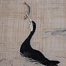 川鵜の刺繍生平麻名古屋帯 質感・風合