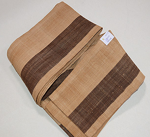 芭蕉布の半巾帯