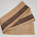 芭蕉布の半巾帯 質感・風合