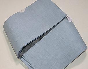 上布の半幅帯