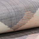 繋ぎ菱形紋麻の半巾帯 質感・風合