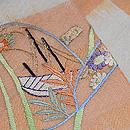 刺繍の半巾帯 質感・風合