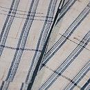 上布切り継ぎの半幅帯 質感・風合