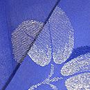 藍暈し萩模様名古屋帯 質感・風合