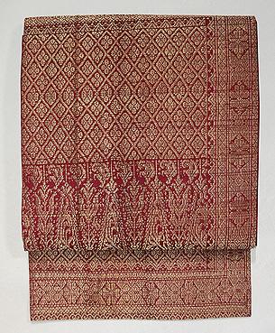 インドネシアスマトラ紋織の名古屋帯