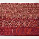 インドネシアスマトラ紋織の名古屋帯 前柄