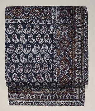 インド更紗の名古屋帯