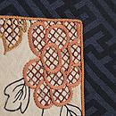 紗綾形紋に押し絵の名古屋帯 質感・風合