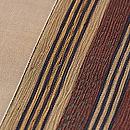 柿の木に雀の刺繍名古屋帯 質感・風合