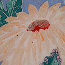 菊の染め名古屋帯 質感・風合