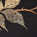 ざくろの刺繍名古屋帯 質感・風合