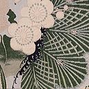 松竹梅の織名古屋帯 質感・風合