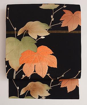 楓の名古屋帯