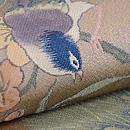 桜に小鳥織り名古屋帯 質感・風合