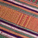 ラオス紋織り名古屋帯 質感・風合