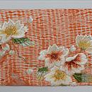 有松絞りに桜の刺繍名古屋帯 前柄