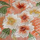 有松絞りに桜の刺繍名古屋帯 質感・風合
