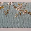 桜の押し絵名古屋帯 前柄