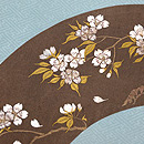 桜の押し絵名古屋帯 質感・風合