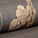 早蕨の刺繍名古屋帯 質感・風合