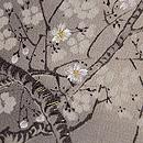 満月に桜の名古屋帯 質感・風合