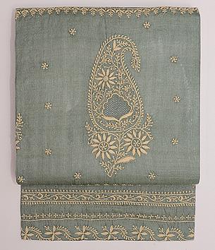 チカンカリ刺繍名古屋帯