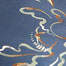 大牡丹の染め名古屋帯 質感・風合