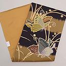アゲハチョウの刺繍名古屋帯 帯裏