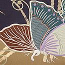 アゲハチョウの刺繍名古屋帯 質感・風合