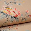 ムクゲの花 ヨーロッパ更紗名古屋帯 質感・風合