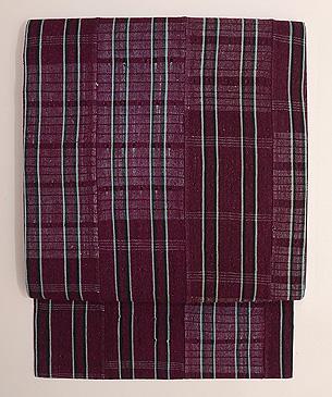 ヨルバ レース織りの名古屋帯