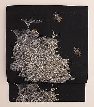 野の蛍織り名古屋帯