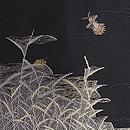 野の蛍織り名古屋帯 質感・風合