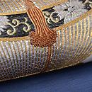 虫かごの刺繍絽の名古屋帯 質感・風合