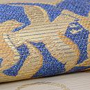 軍配に千鳥文様絽紗の袋帯 質感・風合