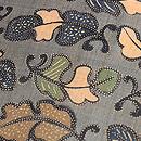 芭蕉布の型染め名古屋帯 質感・風合