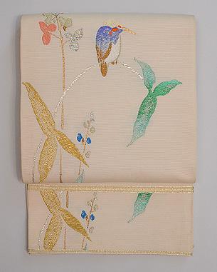 龍村平蔵製 夏袋帯「ひすい」