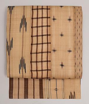 芭蕉布継ぎ名古屋帯