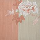 秋草の図刺繍付帯 前柄